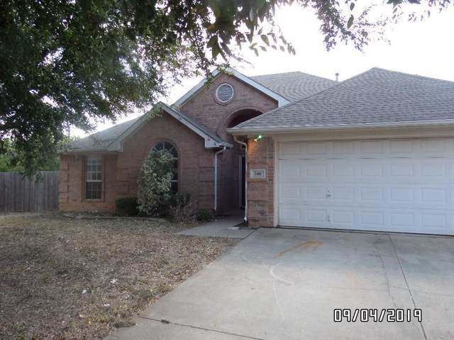 540 Olive Street, Crowley, TX 76036 (MLS #14187177) :: The Real Estate Station