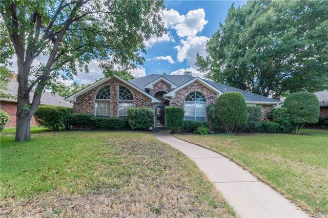 705 Greenway Drive, Coppell, TX 75019 (MLS #14187303) :: The Paula Jones Team | RE/MAX of Abilene