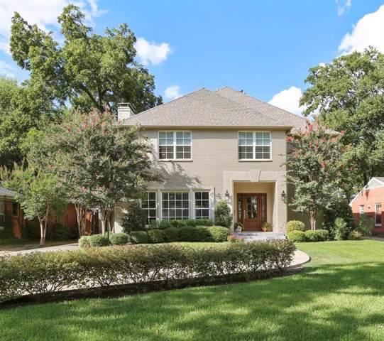 5317 Emerson Avenue, Dallas, TX 75209 (MLS #14187329) :: The Heyl Group at Keller Williams