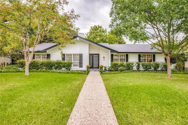 4937 Forest Bend Road, Dallas, TX 75244 (MLS #14187369) :: RE/MAX Town & Country