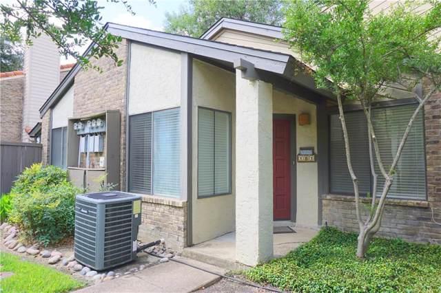 821 Dublin Drive #181, Richardson, TX 75080 (MLS #14187466) :: The Good Home Team