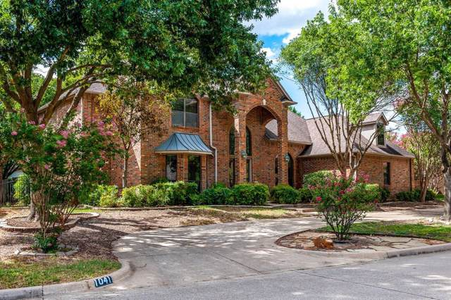 1041 Clubhouse Drive, Mansfield, TX 76063 (MLS #14187484) :: Kimberly Davis & Associates