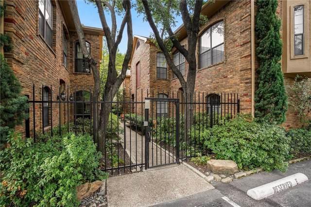 4307 Gilbert Avenue #108, Dallas, TX 75219 (MLS #14187543) :: The Hornburg Real Estate Group