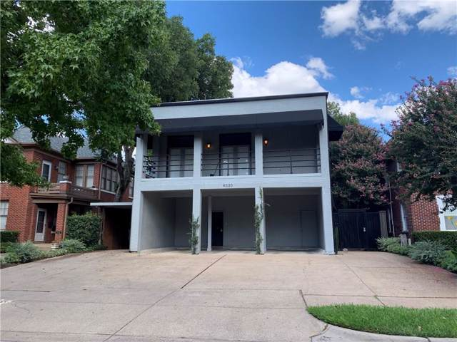 4030 Holland Avenue #6, Dallas, TX 75219 (MLS #14187585) :: RE/MAX Town & Country