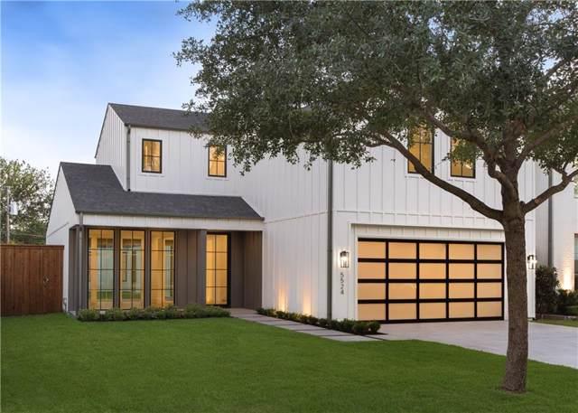 5524 W Hanover Avenue, Dallas, TX 75209 (MLS #14187752) :: Kimberly Davis & Associates