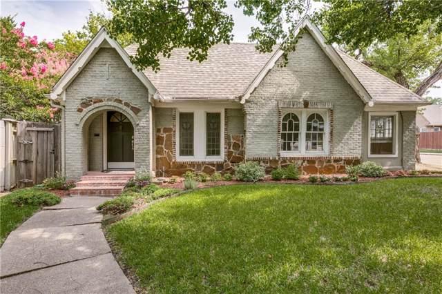 5639 Merrimac Avenue, Dallas, TX 75206 (MLS #14187761) :: Van Poole Properties Group