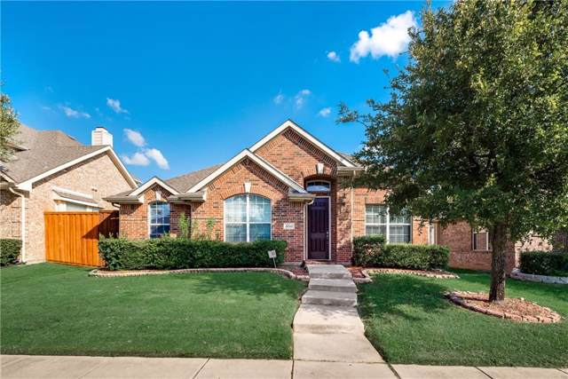 6040 Durango Drive, The Colony, TX 75056 (MLS #14187814) :: RE/MAX Pinnacle Group REALTORS