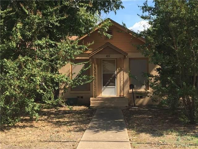 402 Dunn Street, Waxahachie, TX 75165 (MLS #14187854) :: Kimberly Davis & Associates