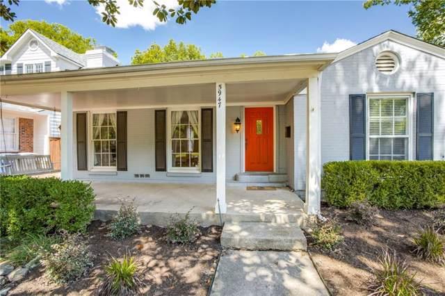 5947 Marquita Avenue, Dallas, TX 75206 (MLS #14187861) :: Vibrant Real Estate