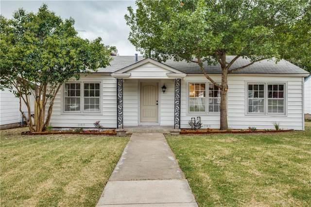 4312 Fairfax Street, Fort Worth, TX 76116 (MLS #14188057) :: The Mitchell Group