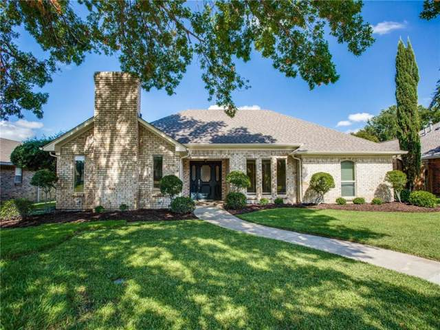 2318 Bush Circle, Carrollton, TX 75007 (MLS #14188095) :: Team Tiller