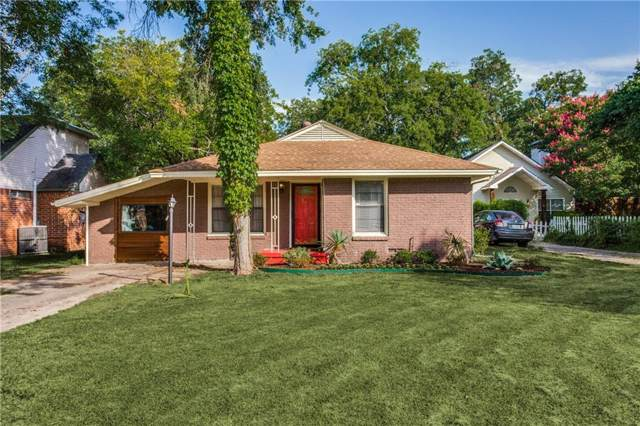 8631 Forest Hills Boulevard, Dallas, TX 75218 (MLS #14188226) :: Robbins Real Estate Group