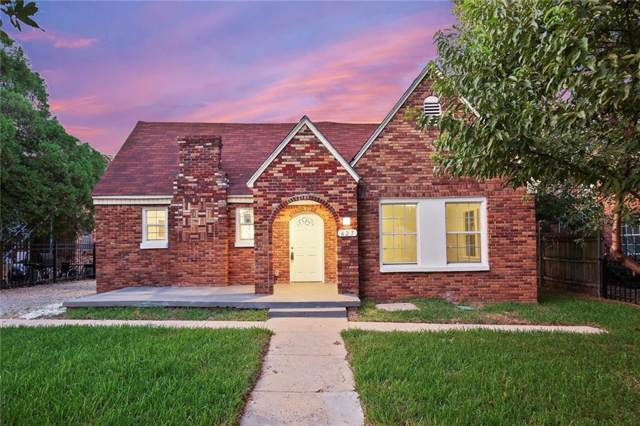 627 Winston Street, Dallas, TX 75208 (MLS #14188240) :: The Good Home Team