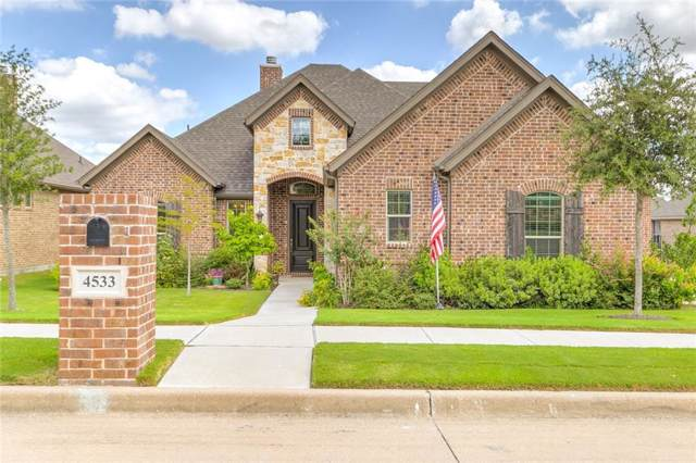 4533 Knoll Ridge Drive, Fort Worth, TX 76008 (MLS #14188322) :: RE/MAX Pinnacle Group REALTORS