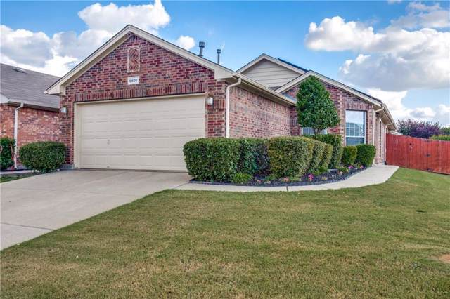 6400 Claire Drive, Fort Worth, TX 76131 (MLS #14188532) :: RE/MAX Town & Country