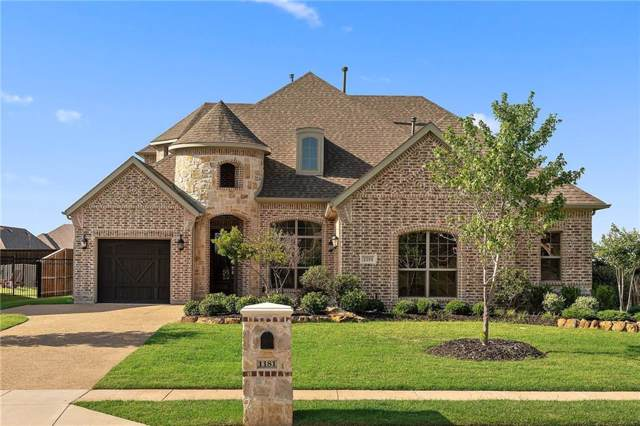 1181 Circle J Trail, Prosper, TX 75078 (MLS #14188630) :: Frankie Arthur Real Estate