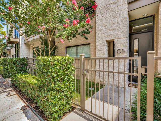 4140 Newton Avenue #5, Dallas, TX 75219 (MLS #14188726) :: Lynn Wilson with Keller Williams DFW/Southlake