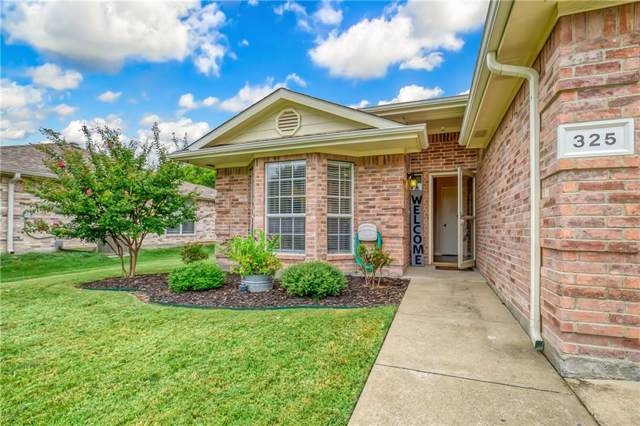 325 Lake Travis Drive, Wylie, TX 75098 (MLS #14188805) :: The Rhodes Team