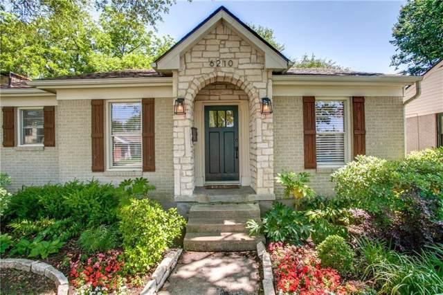 6210 Anita Street, Dallas, TX 75214 (MLS #14188893) :: Frankie Arthur Real Estate