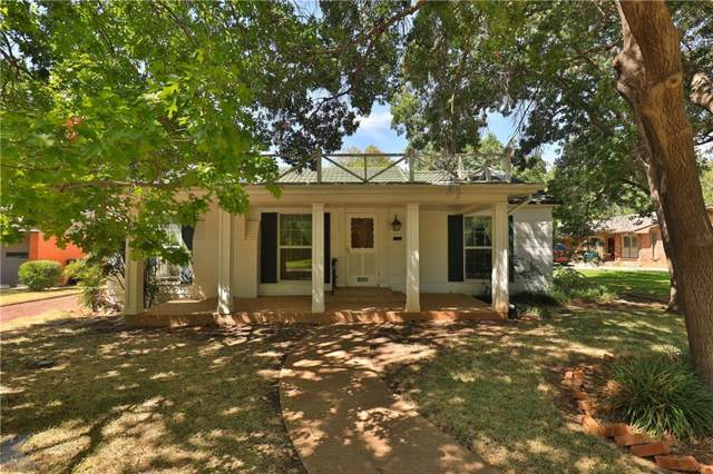 1134 Glenwood Drive, Abilene, TX 79605 (MLS #14188921) :: Ann Carr Real Estate