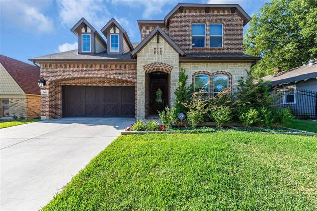 3605 W 5th Street, Fort Worth, TX 76107 (MLS #14188954) :: The Mitchell Group