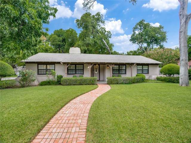 4004 Bellaire Drive S, Fort Worth, TX 76109 (MLS #14188961) :: The Mitchell Group