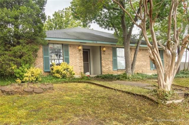 1016 Placid Drive, Mesquite, TX 75150 (MLS #14189119) :: Ann Carr Real Estate
