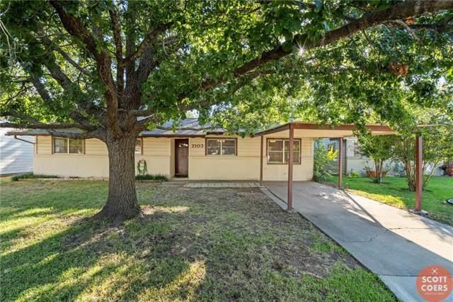2103 13th Street, Brownwood, TX 76801 (MLS #14189221) :: The Heyl Group at Keller Williams