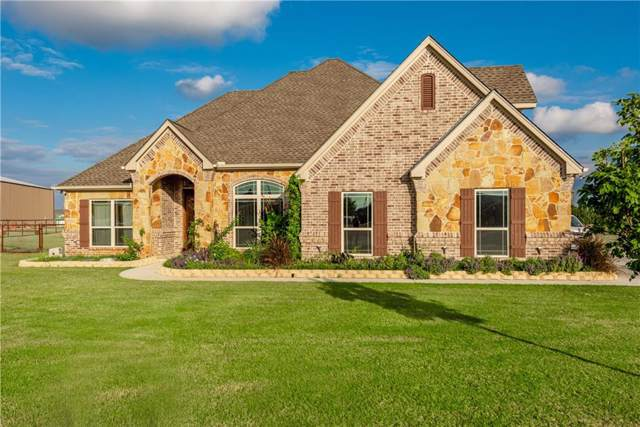 147 Cornerstone Lane, Springtown, TX 76082 (MLS #14189312) :: All Cities Realty