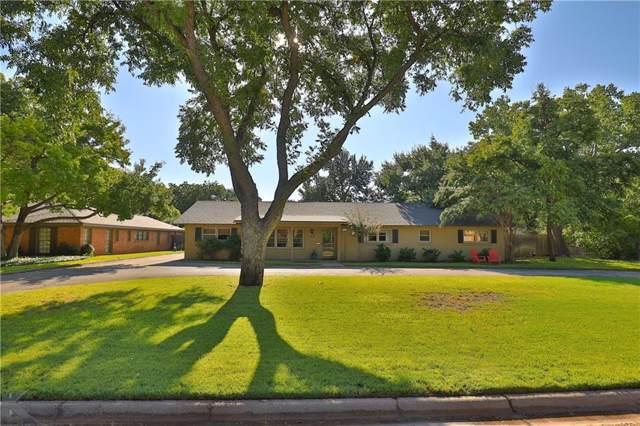 1833 Woodridge Drive, Abilene, TX 79605 (MLS #14189431) :: Ann Carr Real Estate