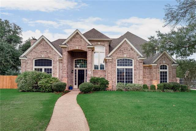 5807 Highland Hills Lane, Colleyville, TX 76034 (MLS #14189468) :: The Mitchell Group