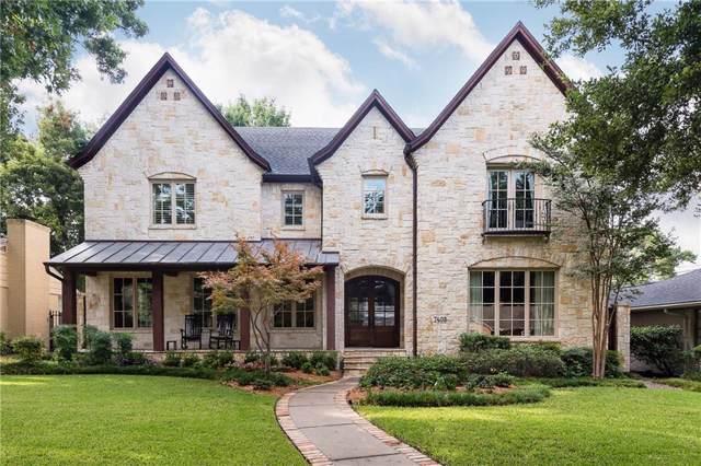 7408 Marquette Street, Dallas, TX 75225 (MLS #14189503) :: Lynn Wilson with Keller Williams DFW/Southlake