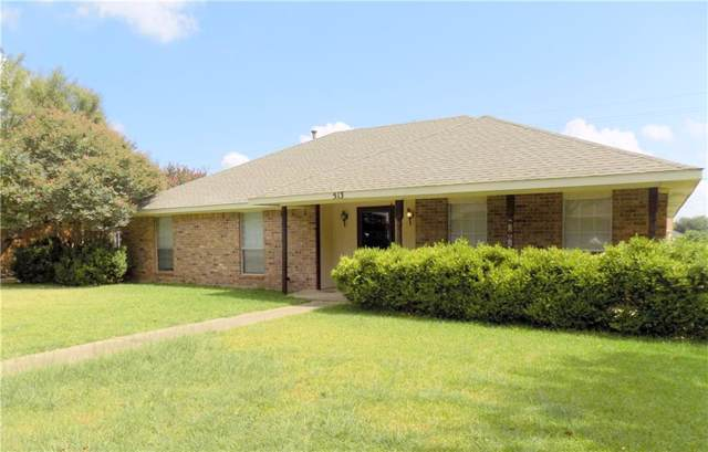 513 Woodhollow Drive, Wylie, TX 75098 (MLS #14189526) :: The Kimberly Davis Group