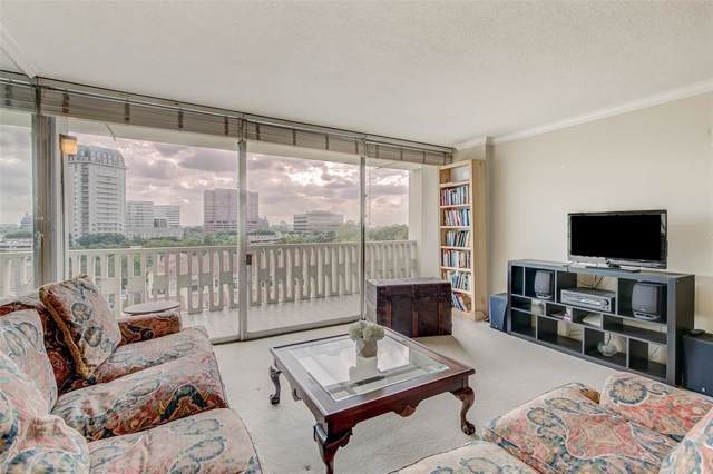 3701 Turtle Creek Boulevard 8H, Dallas, TX 75219 (MLS #14189537) :: The Hornburg Real Estate Group