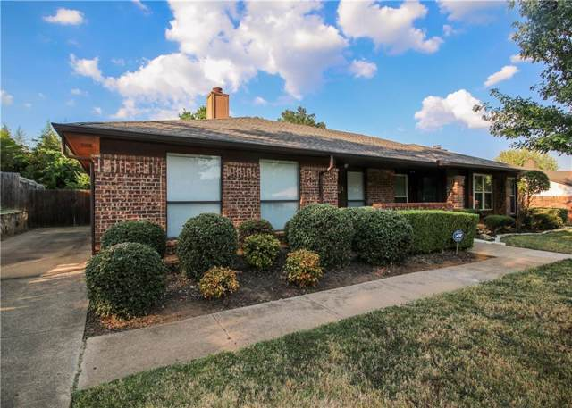 2401 Chestnut Way, Bedford, TX 76022 (MLS #14189557) :: The Mitchell Group