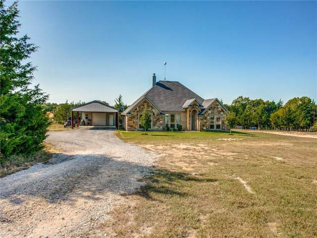126 Cemetery Road, Decatur, TX 76234 (MLS #14189588) :: All Cities Realty