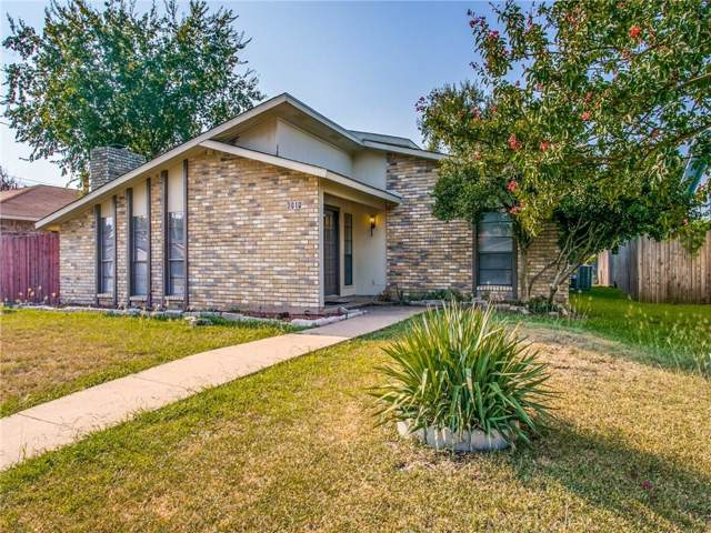 3010 Nutmeg Lane, Garland, TX 75044 (MLS #14189633) :: The Good Home Team