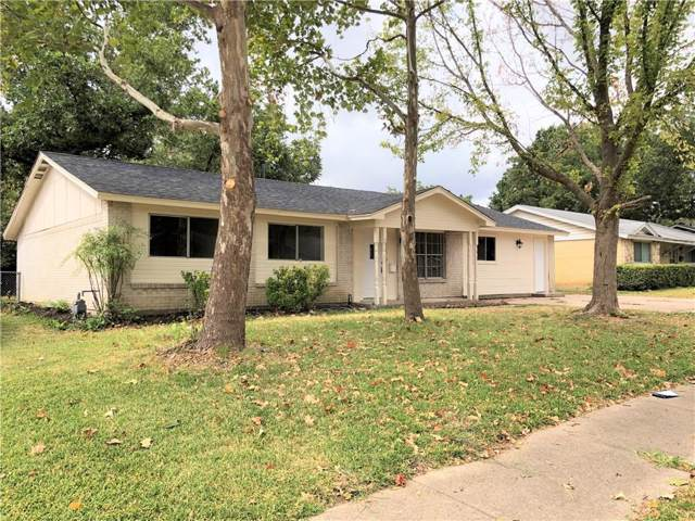 1306 E Tucker Boulevard, Arlington, TX 76010 (MLS #14189652) :: The Mitchell Group