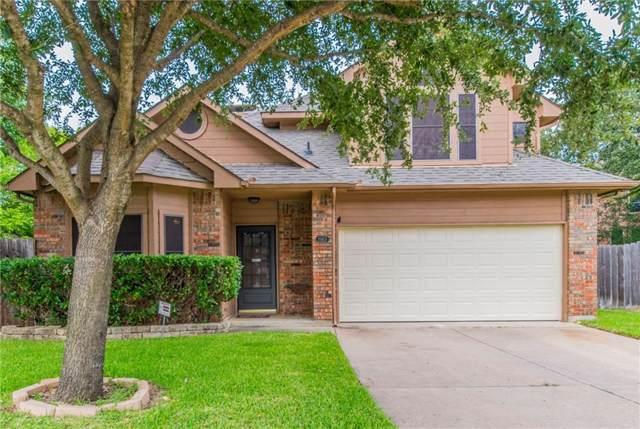 1503 Bennington Court, Grapevine, TX 76051 (MLS #14189653) :: The Rhodes Team
