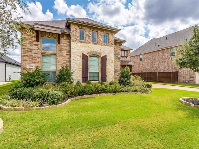1016 Merion Drive, Fort Worth, TX 76028 (MLS #14189700) :: Potts Realty Group