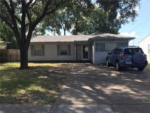 2508 W 7th Street, Irving, TX 75060 (MLS #14189740) :: The Paula Jones Team | RE/MAX of Abilene