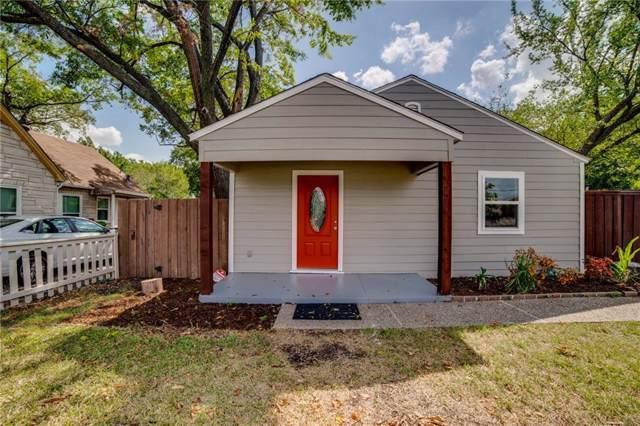 400 W Avenue D, Garland, TX 75040 (MLS #14189791) :: Frankie Arthur Real Estate