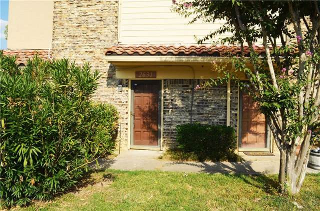 2631 Piedras #4, Irving, TX 75038 (MLS #14189801) :: The Paula Jones Team | RE/MAX of Abilene