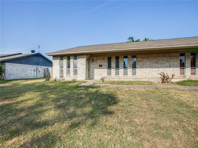 1213 Sam Houston Drive, Garland, TX 75042 (MLS #14189867) :: Ann Carr Real Estate