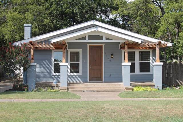 5108 Collinwood Avenue, Fort Worth, TX 76107 (MLS #14189894) :: Robbins Real Estate Group