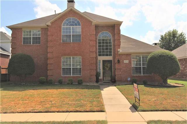 9719 Shelby Place, Frisco, TX 75035 (MLS #14189909) :: Hargrove Realty Group