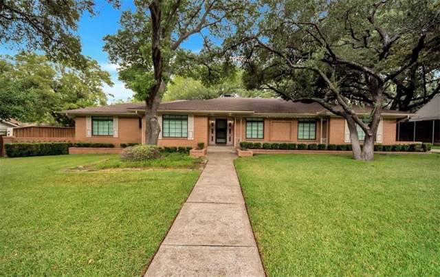 11829 Hampstead Lane, Dallas, TX 75230 (MLS #14189958) :: All Cities Realty
