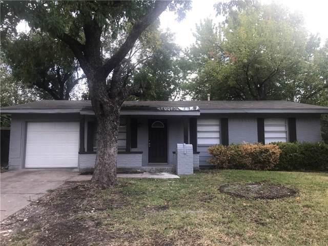 709 Hardy Drive, Garland, TX 75041 (MLS #14189988) :: Ann Carr Real Estate