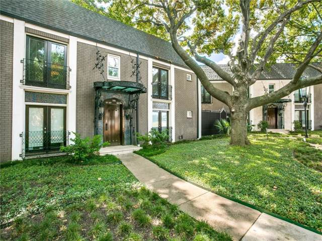 10115 Regal Park Lane #207, Dallas, TX 75230 (MLS #14190001) :: All Cities Realty