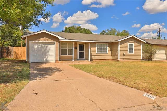 2710 S 39th Street, Abilene, TX 79605 (MLS #14190039) :: The Tierny Jordan Network